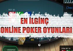 online casino sitelerinde oynayabileceğiniz en keyifli poker oyunlarını sizler için hazırladık.