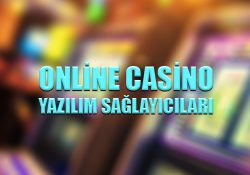Online casino yazılım sağlayıcıları