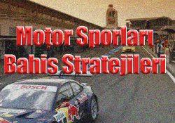 Motor sporları bahislerinde hangi stratejileri uygulamalısınız detaylıca yazımızda açıkladık.